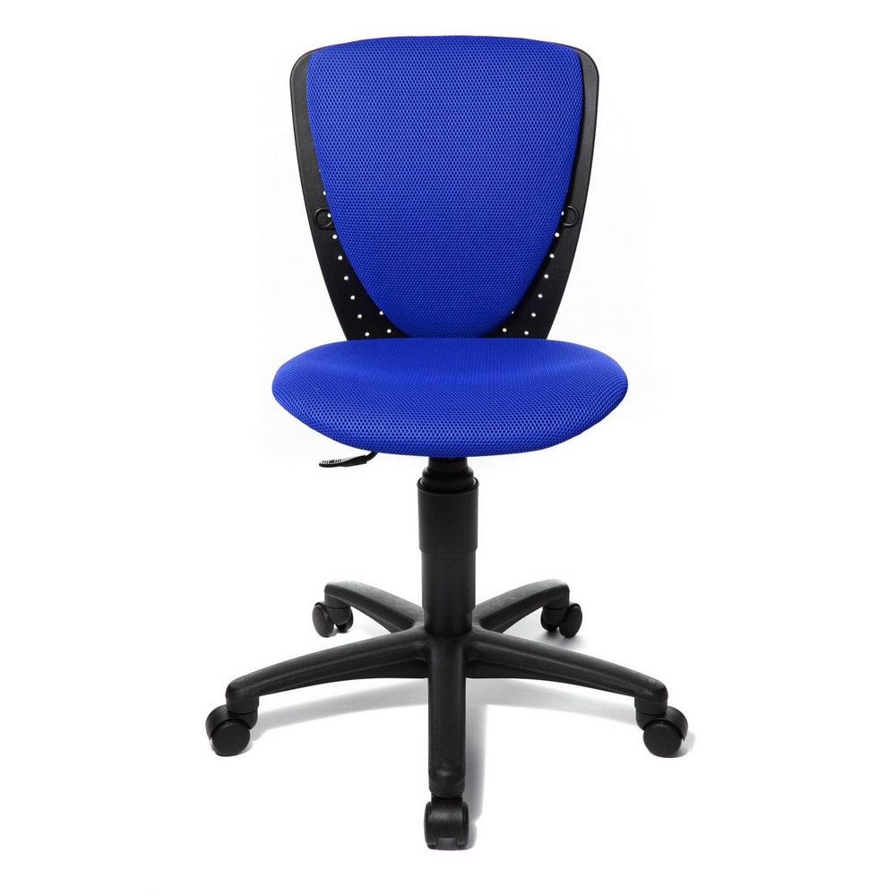High S Cool Blue Child S Gas Lift Swivel Chair 70570bb60e