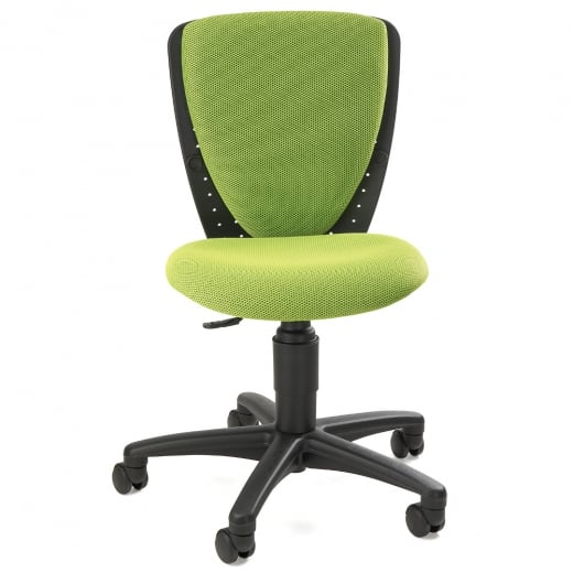Topstar High S'Cool Green Child's Gas Lift Swivel Chair