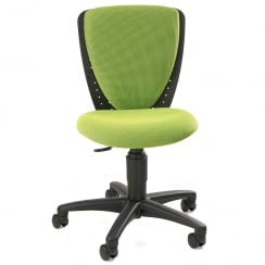 High S'Cool Green Child's Gas Lift Swivel Chair