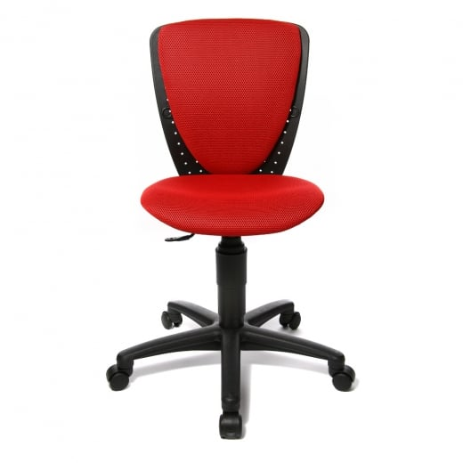Topstar High S'Cool Red Child's Gas Lift Swivel Chair