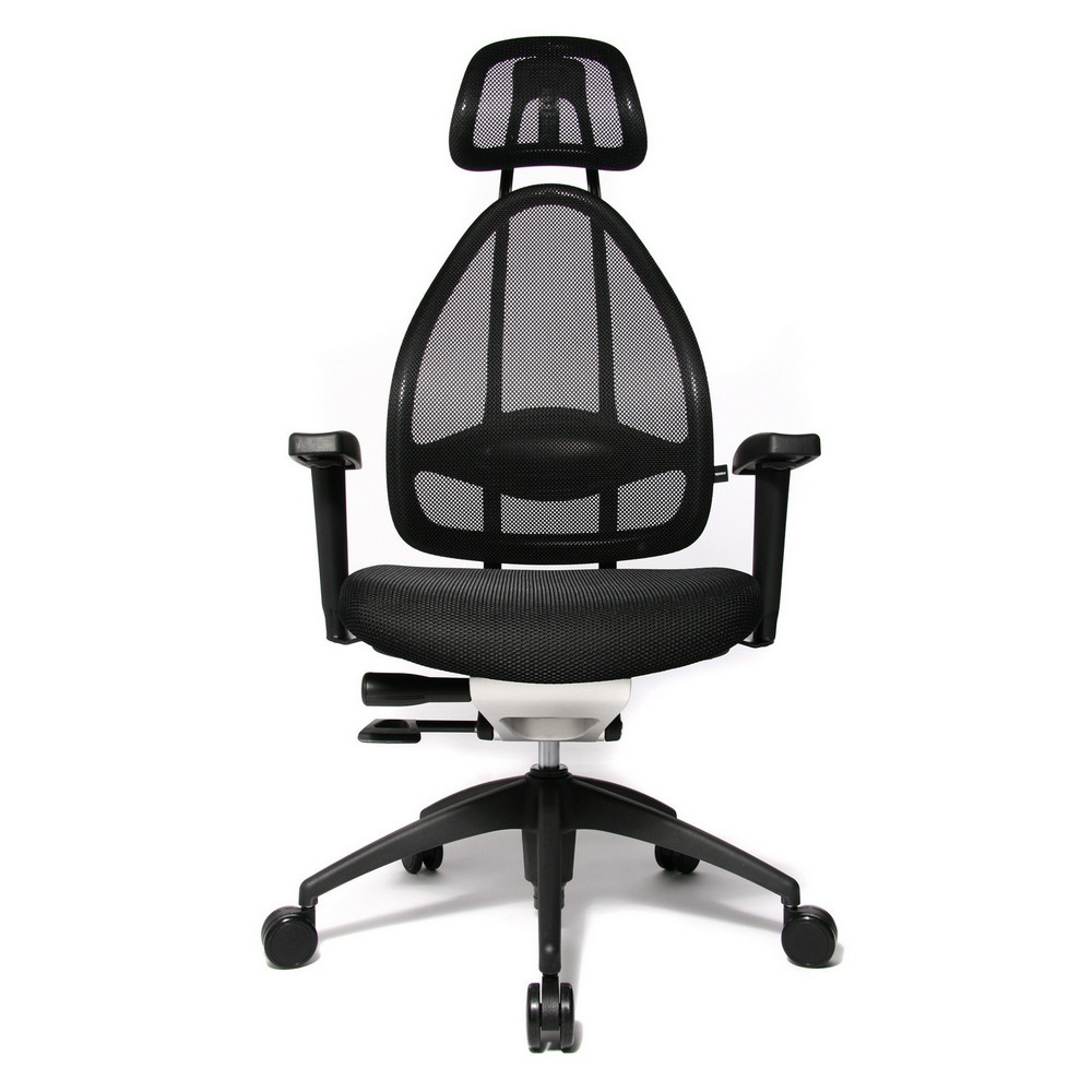 open art 2010 black fabric and mesh office chair opa0tb900e. Black Bedroom Furniture Sets. Home Design Ideas