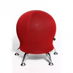 Sitness 5 3D Ball Stool Aluminium Feet Various Colours