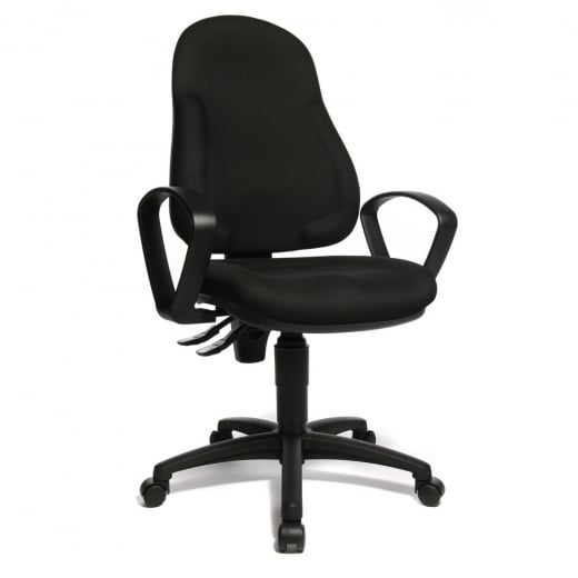 Topstar WellPoint 10 Ergonomic Gas Lift Operator Chair 8050BBC0E