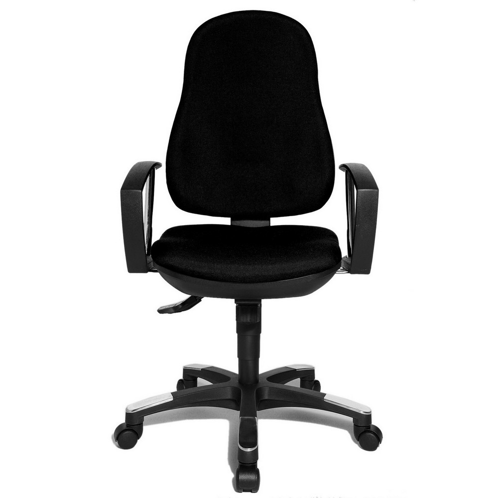 Beautiful Topstar Trend SY 10 Black Fabric Office Chair