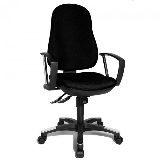 Topstar Trend SY 10 Black Fabric Office Chair